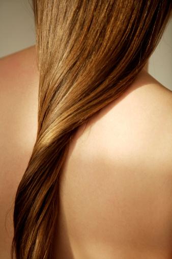 Гладка и права коса