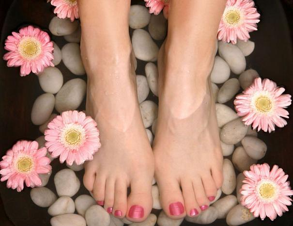 Направете стъпалата меки и гладки