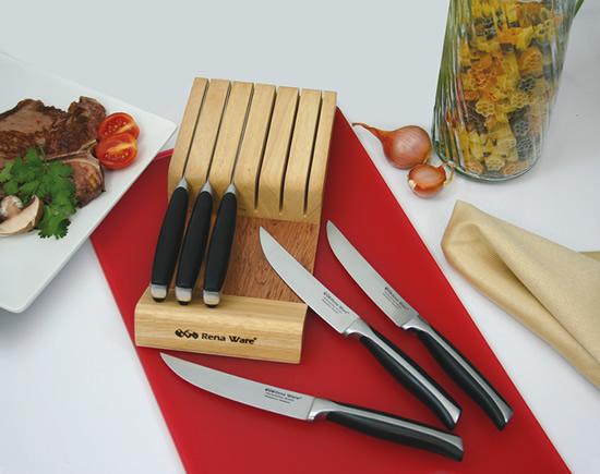 Виж ножовете в кухнята и узнай повече за тяхното разположение
