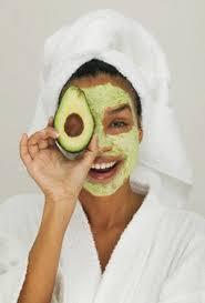 маска авокадо