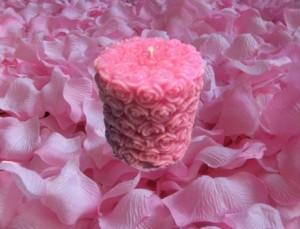 свещ розова