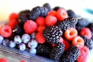 Organic berries