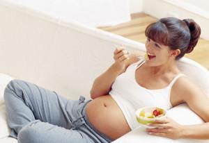 бременна хранене