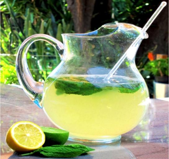 sportna napitka-limonada-menta