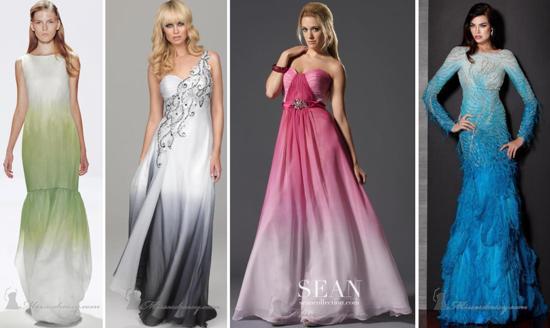 Ombre-Dresses