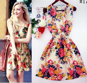 Прекрасна рокля за лятото