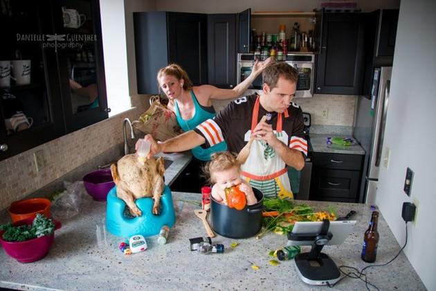 хаос в кухнята
