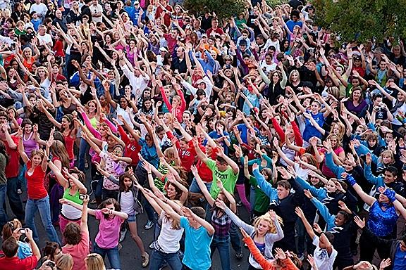 hiv-flashmob