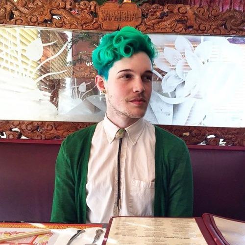 man colourful hair (12)