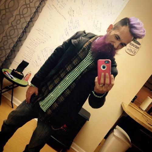 man colourful hair (17)