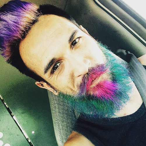 man colourful hair (19)