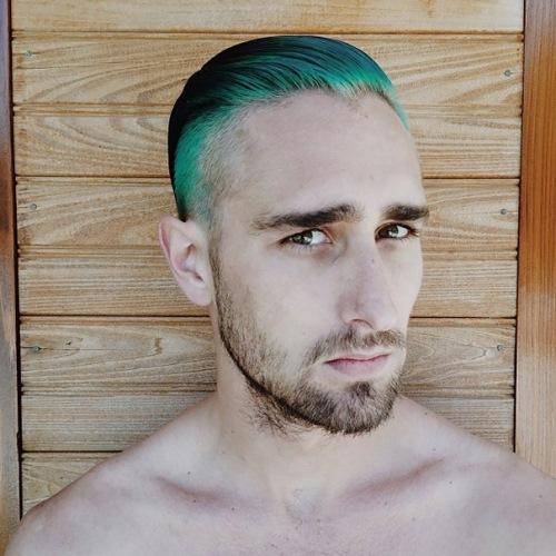 man colourful hair (3)