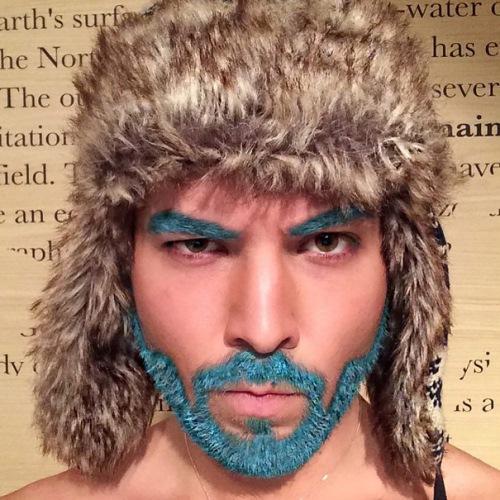 man colourful hair (4)