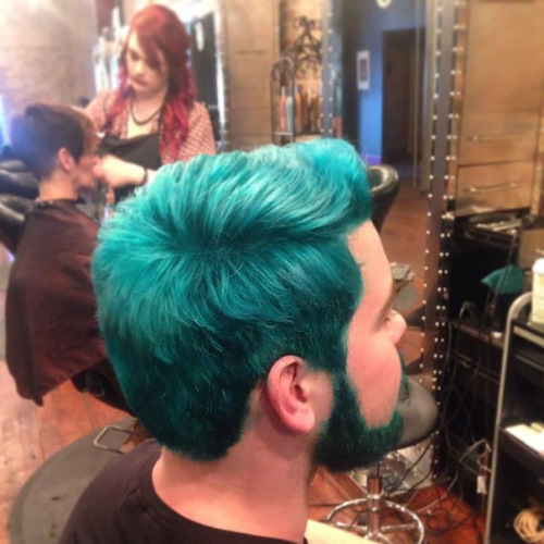 man colourful hair (7)