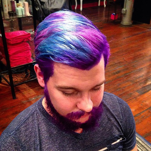 man colourful hair (8)