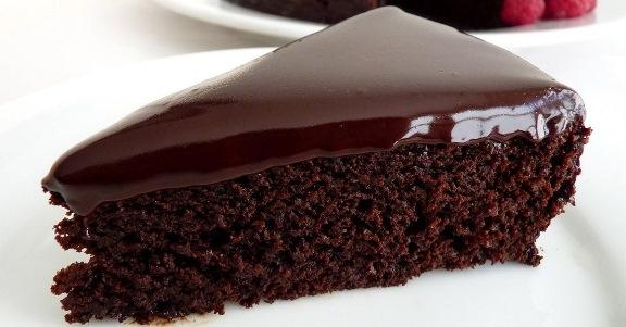 Шоколадов десерт с глазура