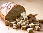 Стар хляб за крутони