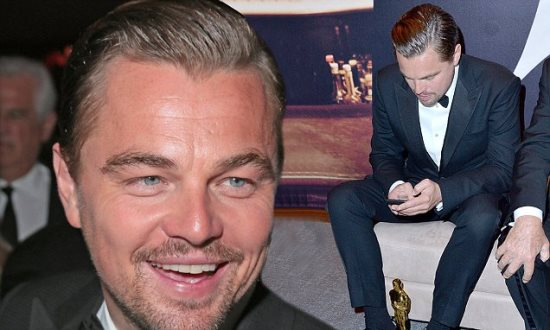 BEVERLY HILLS, CA - FEBRUARY 28: (EXCLUSIVE ACCESS, SPECIAL RATES APPLY) Actor Leonardo DiCaprio attends the 2016 Vanity Fair Oscar Party Hosted By Graydon Carter at the Wallis Annenberg Center for the Performing Arts on February 28, 2016 in Beverly Hills, California. (Photo by Jeff Vespa/VF16/WireImage)