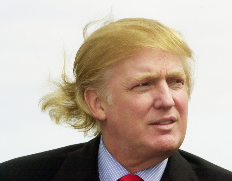 Дръж се Тръмп, вятър те брули!
