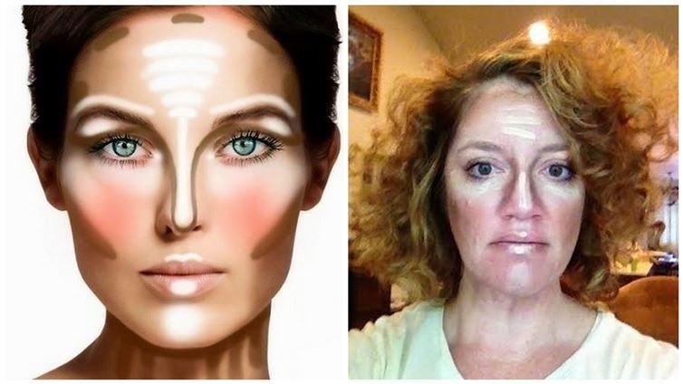 Контуриране на лицето....май е по-трудно, отколкото изглежда