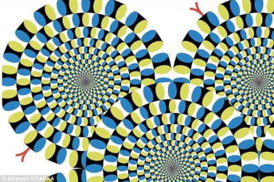 Шантави спирали, които си сменят посоката на въртее