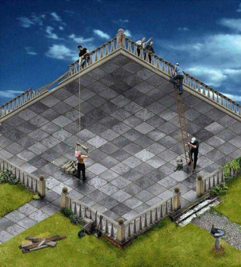 Това е тераса или двор