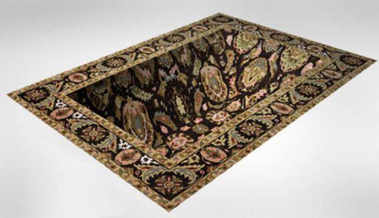 Вдлъбнат или плосък килим
