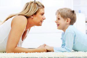 майка-дете-разговор