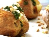 Печени картофи с топинг