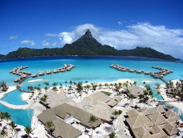 Бора бора, френска Полинезия
