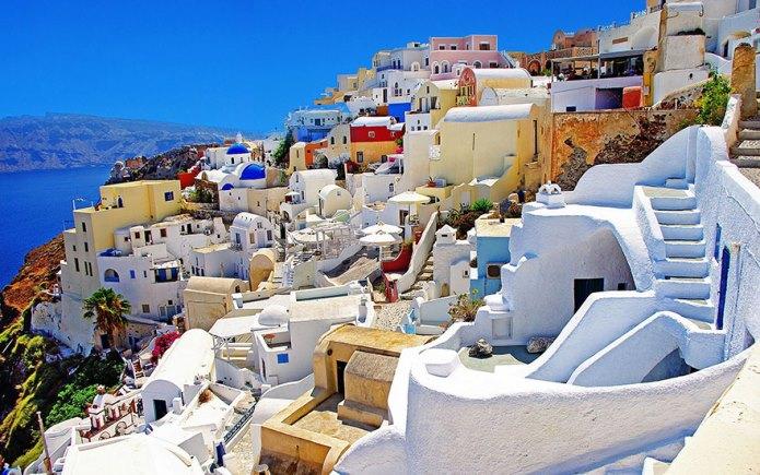 Остров Санторини, Гърция