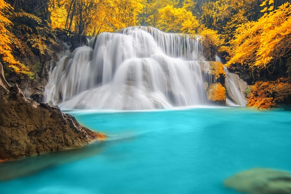 Водопад Eраван, Канчанабури, Таиланд
