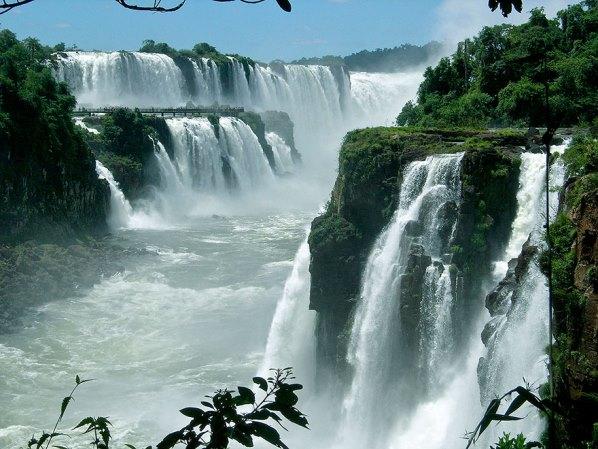 Водопадите Игуасу, Аржентина, Бразилия