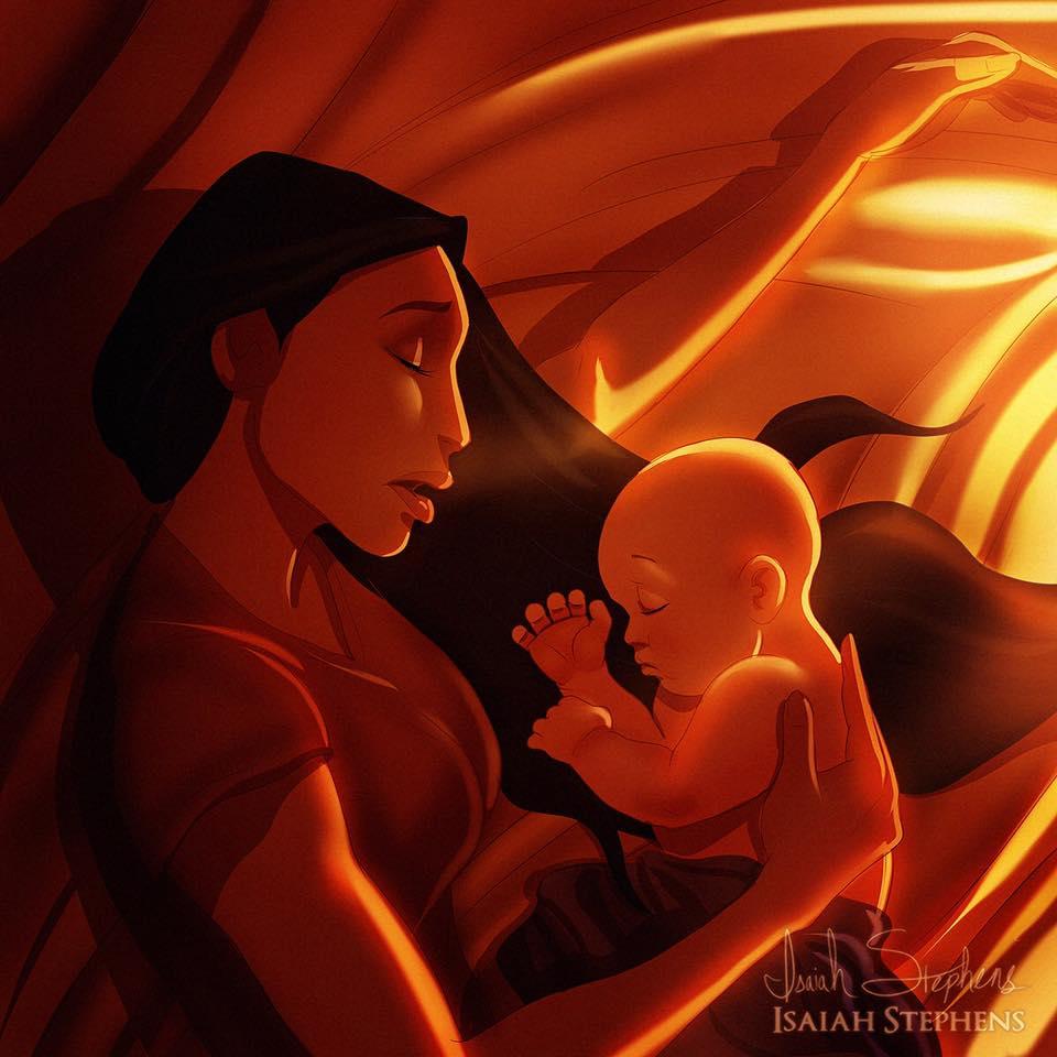 """Покахонтас, може да е една от най-енергичните принцеси, но й тя най-накрая си е намерила """"майстора""""!"""