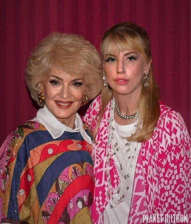Мадона и Лейди Гага като обикновени баба и внучка