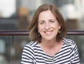 May0055486. Daily Telegraph. Kirsty Wark for DT Features. Picture shows BBC Newsnight presenter Kirsty Wark, picture taken at her London flat. Picture date 11/06/2014