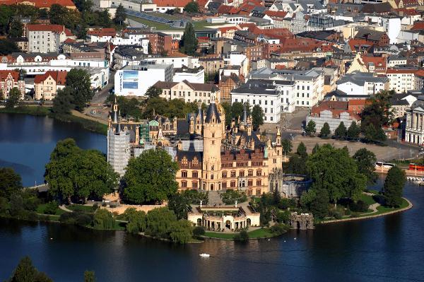 Schweriner Schloss und Altstadt Schwerin