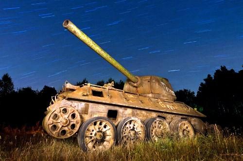 Un Panzer d'Étoiles Filantes // A Panzer Shooting Stars