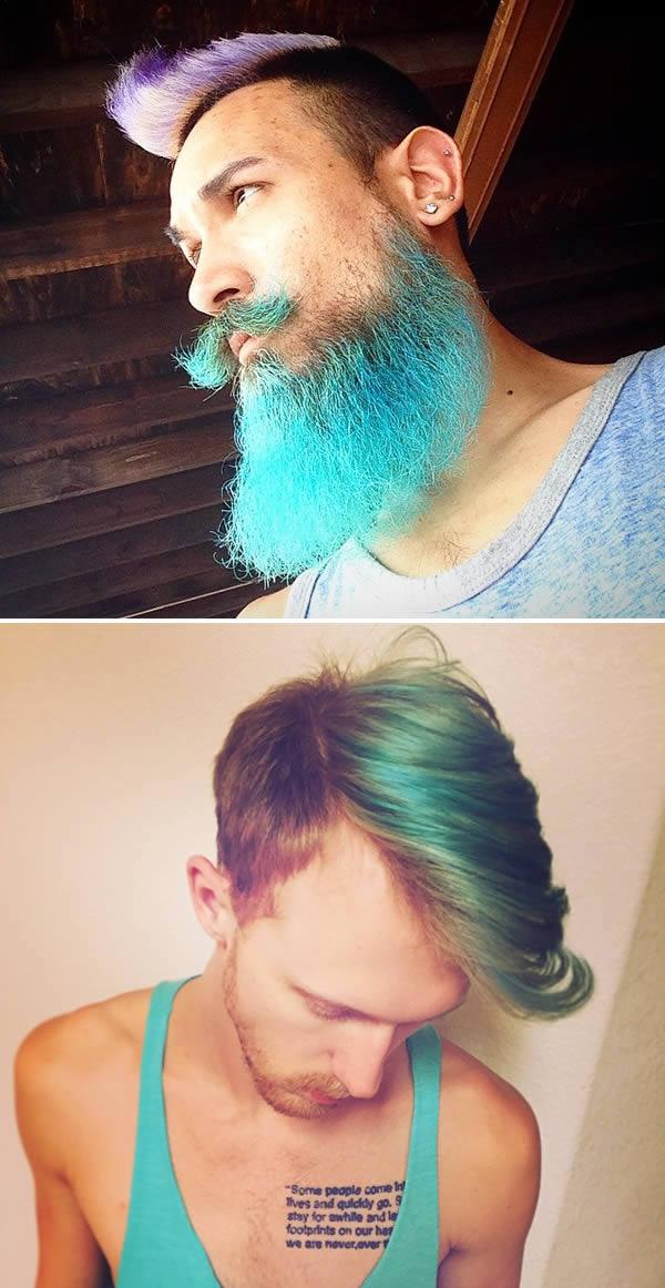 Коса като на русалка, но за мъже