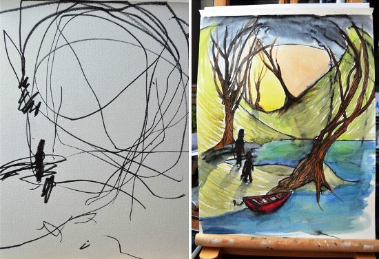 artist-turns-childrens-drawings-into-paintings-1