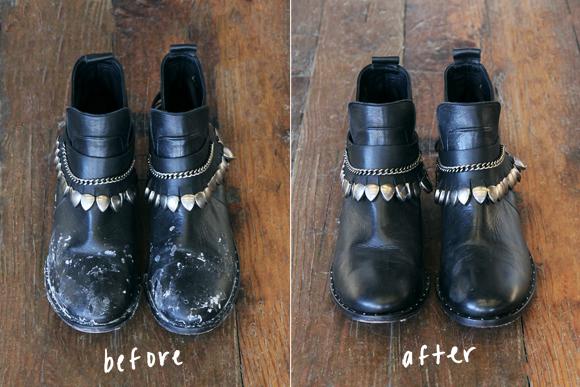 Сол по обувките