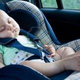 С бебе на път