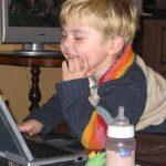 дете компютър