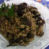 телешки дроб с ориз